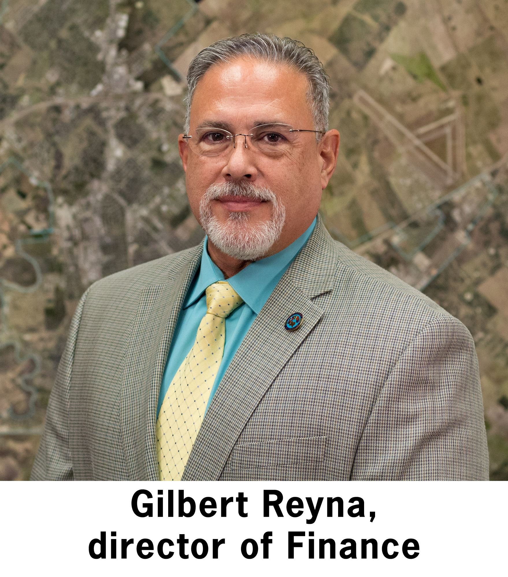 Finance Director Gilbert Reyna