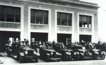 Central Fire Station Victoria Fire Department 1930s